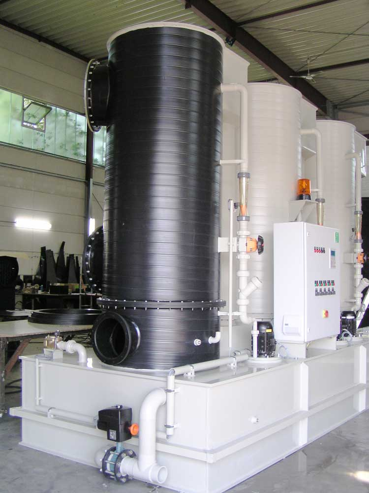 Likusta chlorine-gas treatment systems are easy to transport